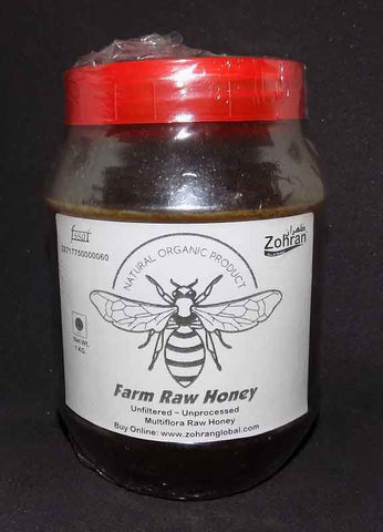 Wholesale Pack Zohran Multiflora Farm Raw Honey - Wholesale Pack - Zohranglobal.com