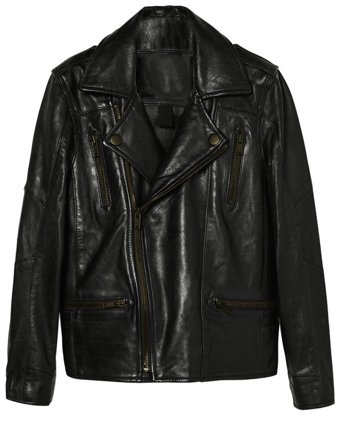Kids Leather Jackets KGJKT-101 - Zohranglobal.com