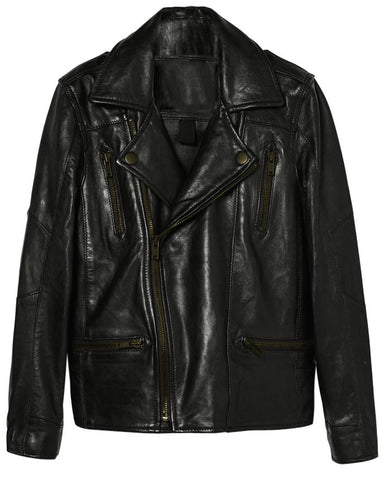 Kids Leather Jackets KGJKT-101 - Kids Leather Jackets - Zohranglobal.com