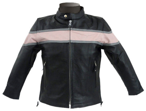 Kids Leather Jackets KGJKT-106 - Zohranglobal.com