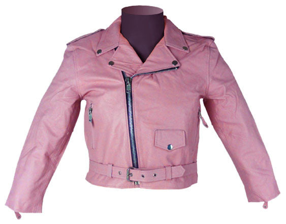 Kids Leather Jackets KGJKT-108 - Zohranglobal.com