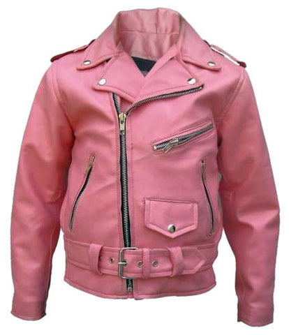 Kids Leather Jackets KGJKT-110 - Kids Leather Jackets - Zohranglobal.com