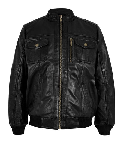 Kids Leather Jackets KGJKT-112 - Kids Leather Jackets - Zohranglobal.com
