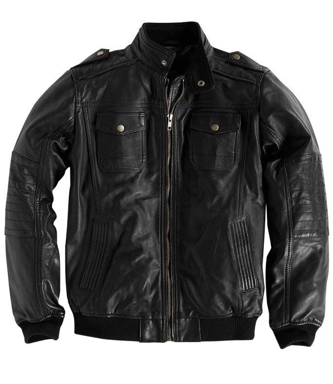 Kids Leather Jackets KGJKT-113 - Kids Leather Jackets - Zohranglobal.com
