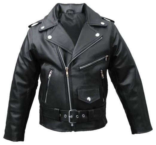 Kids Leather Jackets KGJKT-116 - Kids Leather Jackets - Zohranglobal.com