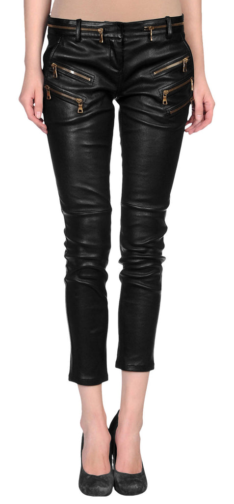 Women Leather Capri WLCPR-101 - Leather Capri - Zohranglobal.com