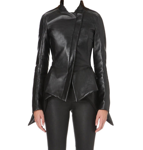 Women Leather Jacket WJKT-501 - Zohranglobal.com