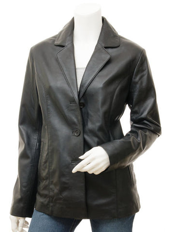 Women Leather Jacket WJKT-519 - Zohranglobal.com