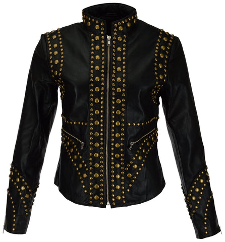 Women Leather Jacket WJKT-PR2001 - Zohranglobal.com