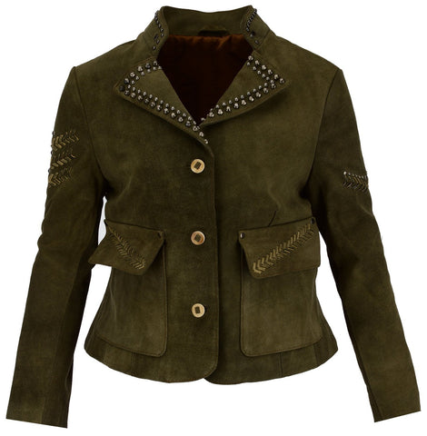Women Leather Jacket WJKT-PR2002 - Zohranglobal.com