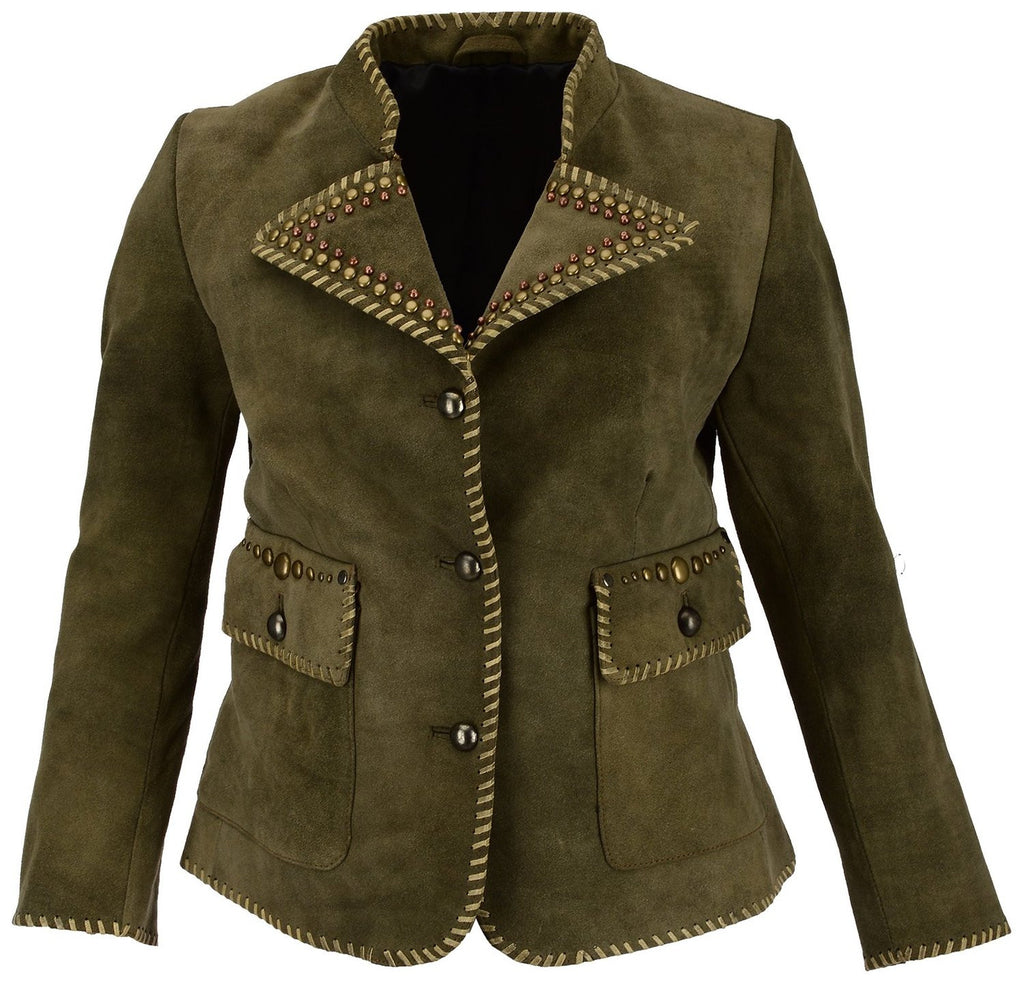 Women Leather Jacket WJKT-PR2003 - Zohranglobal.com