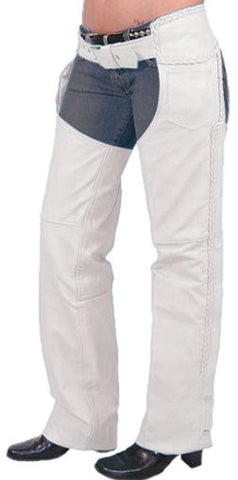 Women Leather Chaps WLCP-103 - Zohranglobal.com