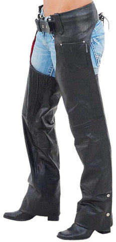 Women Leather Chaps WLCP-104 - Zohranglobal.com