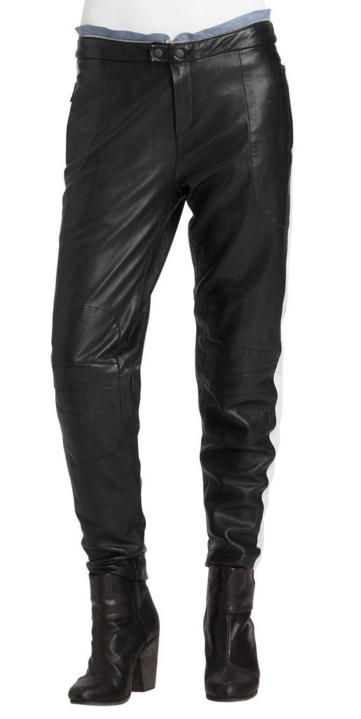 Women Leather Trouser WLTRS-106 - Zohranglobal.com
