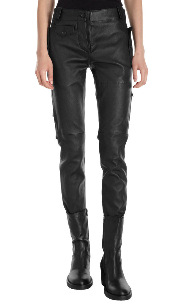 Women Leather Trouser WLTRS-107 - Zohranglobal.com
