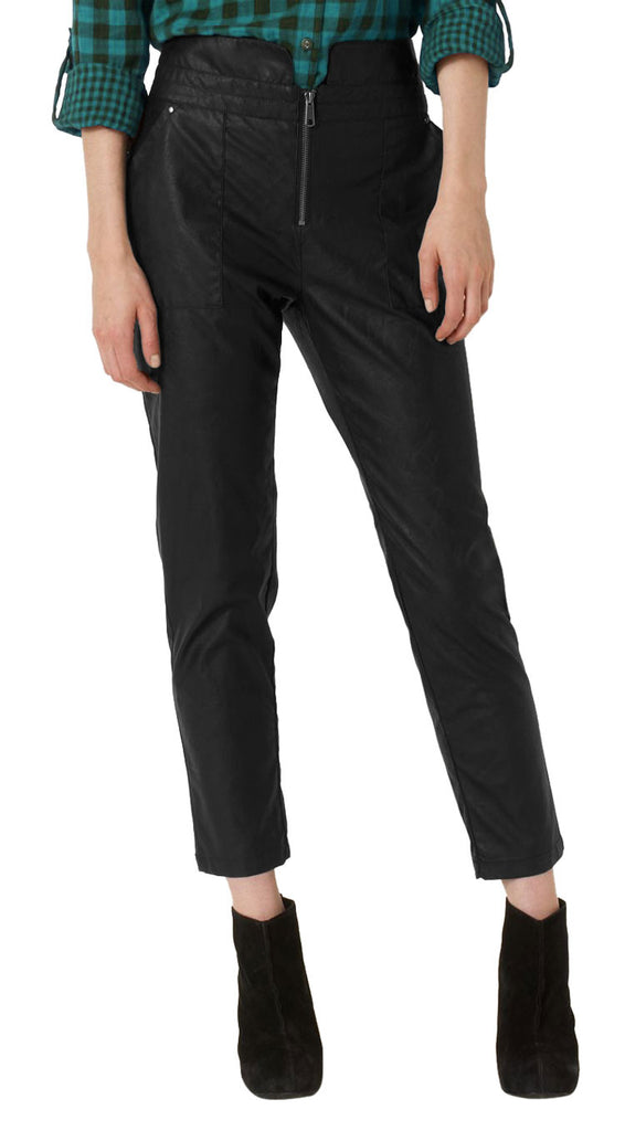 Women Leather Trouser WLTRS-108 - Zohranglobal.com