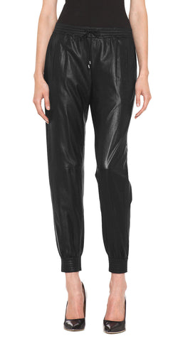 Women Leather Trouser WLTRS-109 - Zohranglobal.com