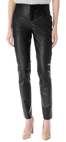 Women Leather Trouser WLTRS-110 - Zohranglobal.com