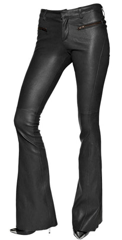 Women Leather Trouser WLTRS-112 - Zohranglobal.com