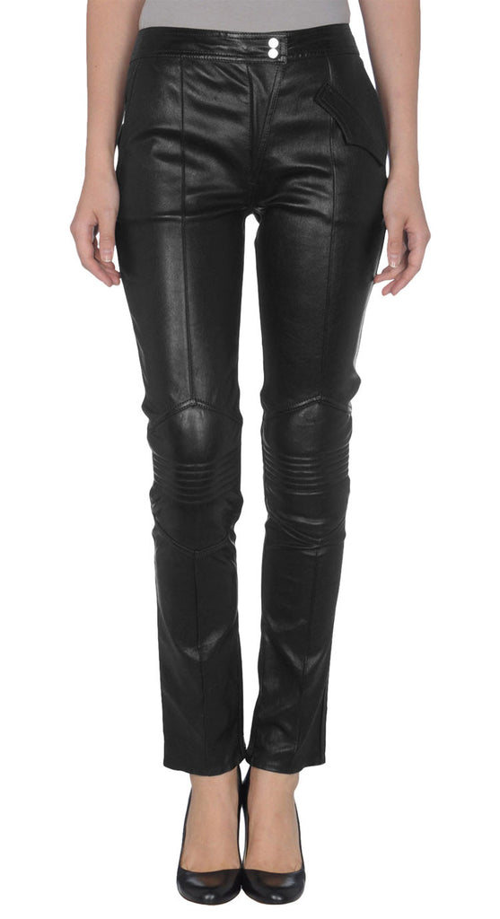 Women Leather Trouser WLTRS-113 - Zohranglobal.com