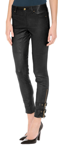 Women Leather Trouser WLTRS-114 - Zohranglobal.com