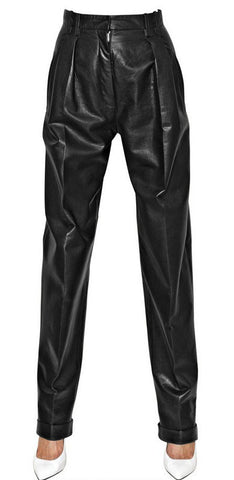 Women Leather Trouser WLTRS-115 - Zohranglobal.com