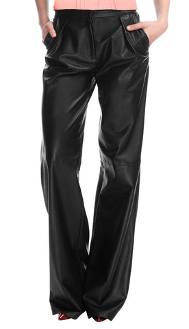Women Leather Trouser WLTRS-116 - Zohranglobal.com