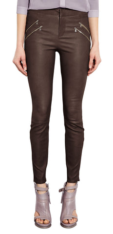 Women Leather Trouser WLTRS-119 - Zohranglobal.com