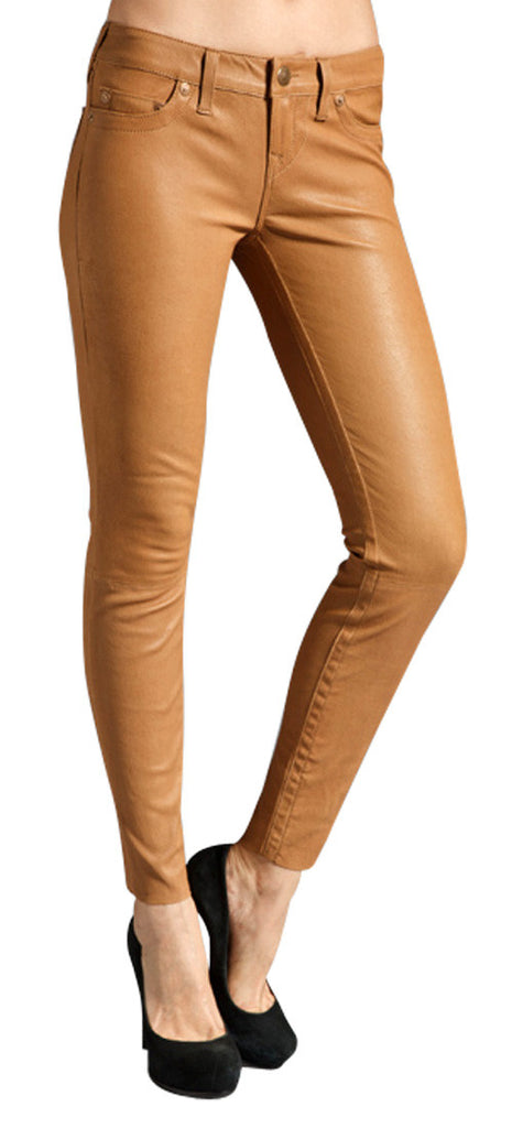 Women Leather Trouser WLTRS-121 - Zohranglobal.com
