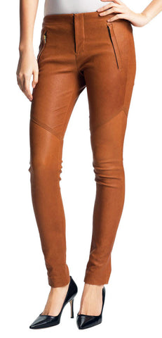 Women Leather Trouser WLTRS-122 - Zohranglobal.com