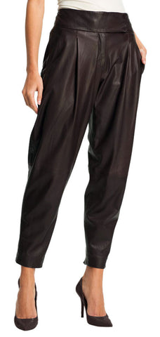 Women Leather Trouser WLTRS-123 - Zohranglobal.com