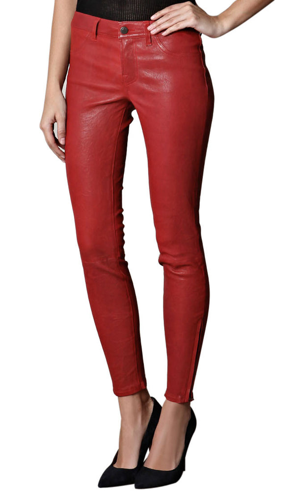 Women Leather Trouser WLTRS-124 - Zohranglobal.com