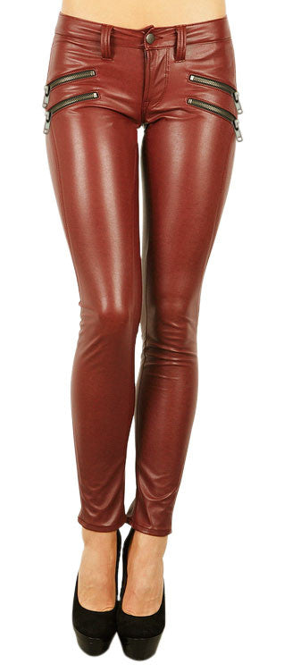 Women Leather Trouser WLTRS-125 - Zohranglobal.com
