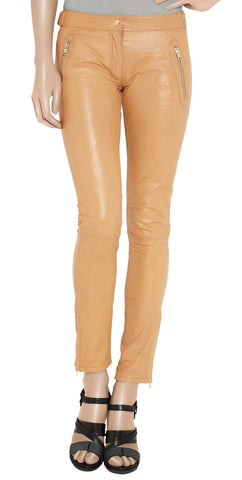 Women Leather Trouser WLTRS-128 - Zohranglobal.com