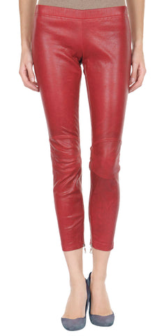 Women Leather Trouser WLTRS-129 - Zohranglobal.com