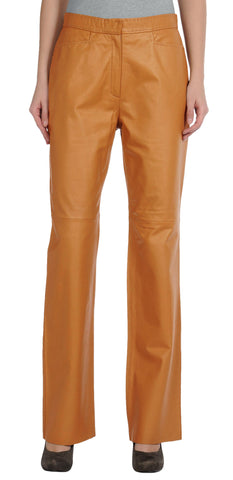 Women Leather Trouser WLTRS-130 - Zohranglobal.com
