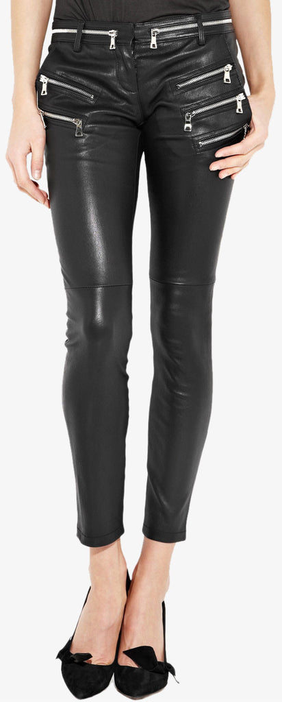 Women Leather Trouser WLTRS-132 - Zohranglobal.com