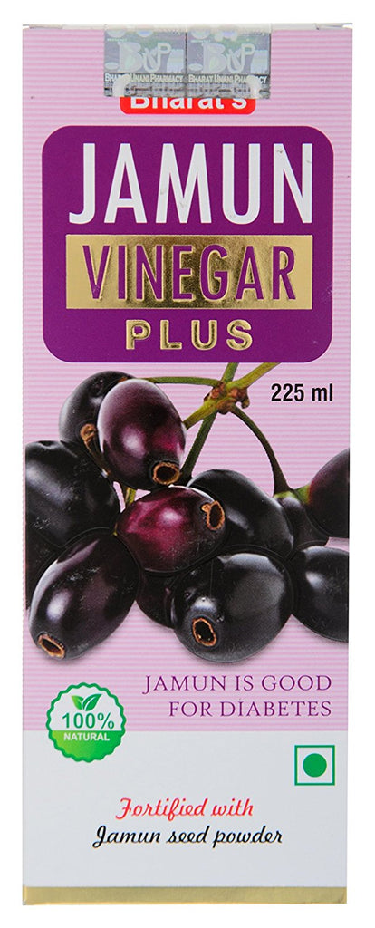 6 Pcs. Wholesale Pack Bharat Pure Jamun Vinegar - Wholesale Pack - Zohranglobal.com