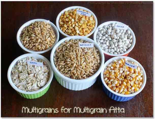 Pure Multi Grain Atta Wheat+Oat+Soya & more
