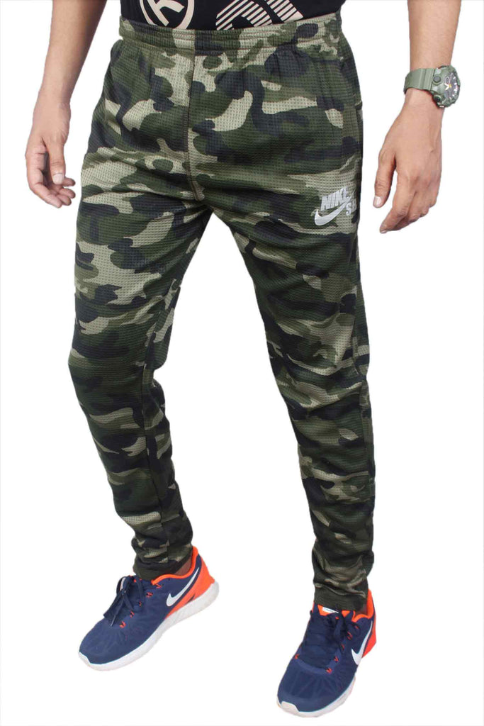 Nike Men Green Lower / Trackpant Sty-6 - Lower - Zohranglobal.com