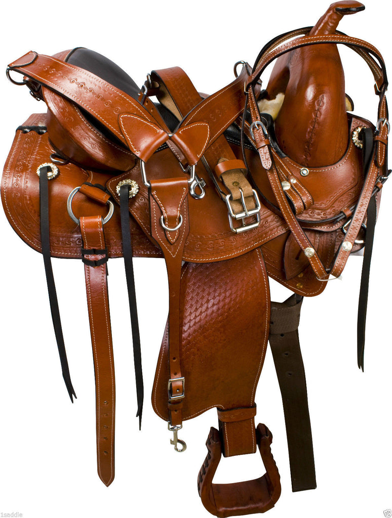Leather Western Saddle WS-109 - Zohranglobal.com