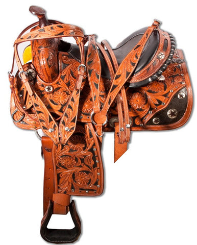 Leather Western Saddle WS-110 - Zohranglobal.com