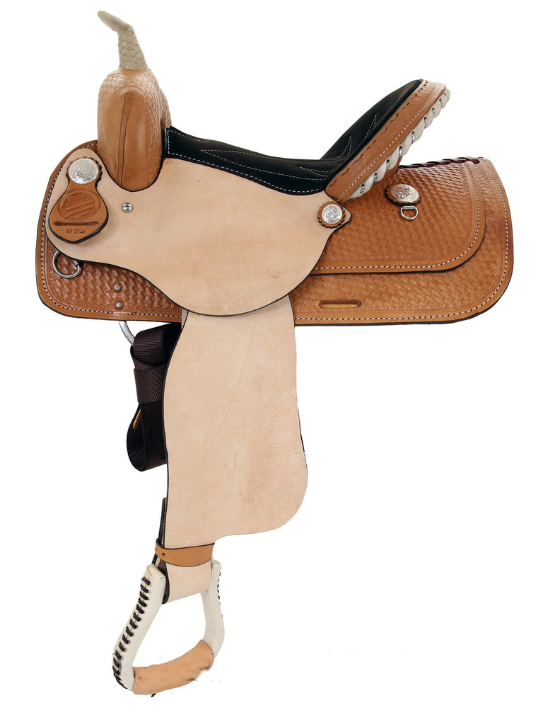Leather Western Saddle WS-111 - Zohranglobal.com