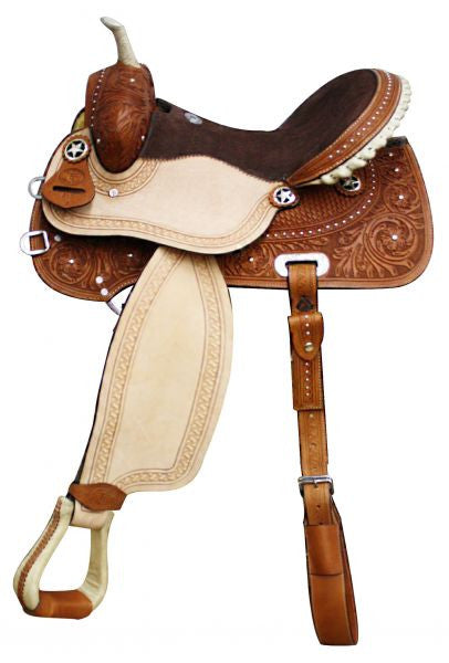 Leather Western Saddle WS-115 - Zohranglobal.com