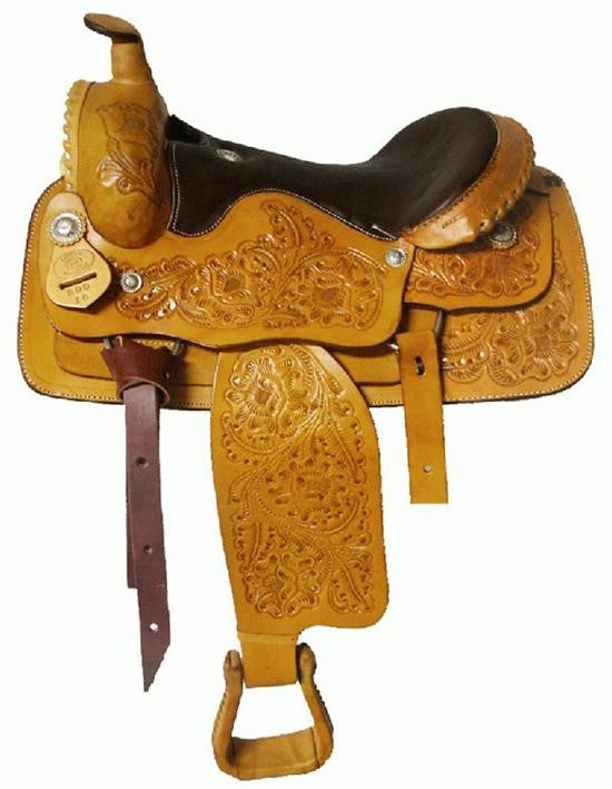 Leather Western Saddle WS-116 - Zohranglobal.com