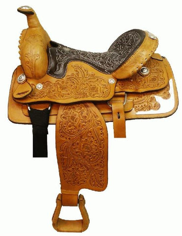 Leather Western Saddle WS-117 - Zohranglobal.com