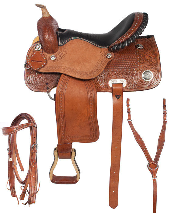 Leather Western Saddle WS-120 - Zohranglobal.com