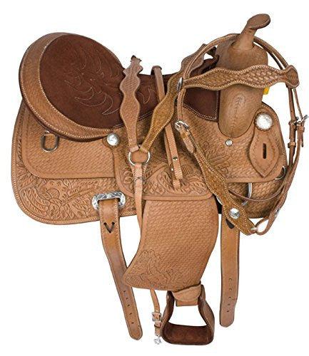 Leather Western Saddle WS-134 - Zohranglobal.com