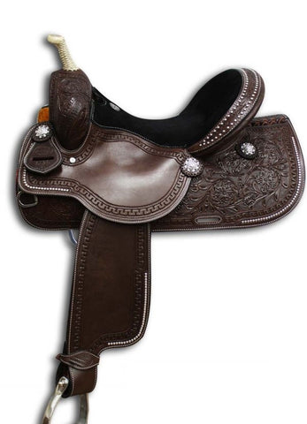 Leather Western Saddle WS-136 - Zohranglobal.com