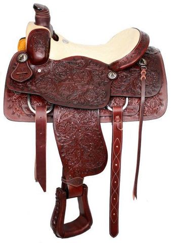 Leather Western Saddle WS-141 - Zohranglobal.com
